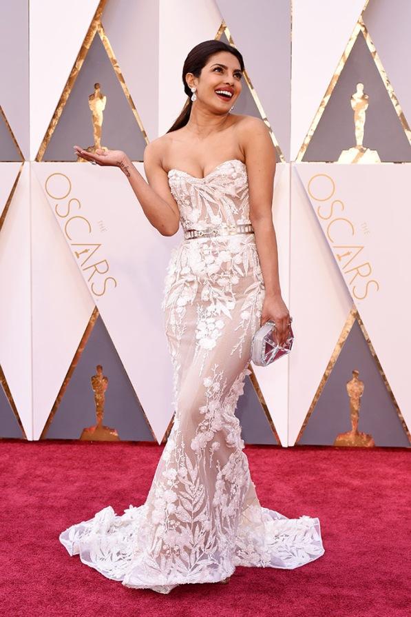 Mandatory Credit: Photo by David Fisher/REX/Shutterstock (5599371bz) Priyanka Chopra 88th Annual Academy Awards, Arrivals, Los Angeles, America - 28 Feb 2016